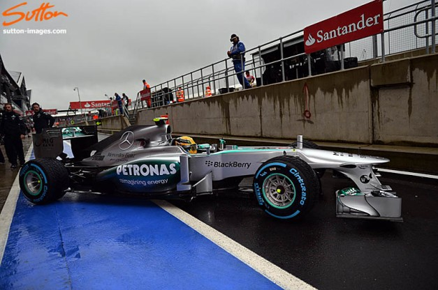 Formula One World Championship, Rd8, British Grand Prix, Practice, Silverstone, England, Friday 28 June 2013.